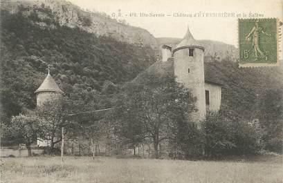 """.CPA  FRANCE 74 """"Etambrière, Le château et le Salève"""""""