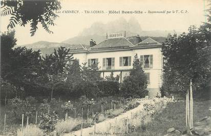 ".CPA  FRANCE 74 ""Talloires, Hôtel Beau Site"""