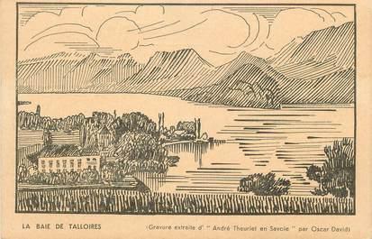 """.CPA  FRANCE 74 """"Talloires, La baie"""""""