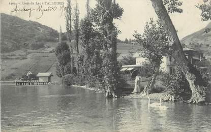 """.CPA  FRANCE 74 """"Talloires, Rives du lac"""""""