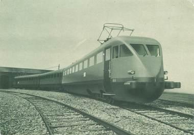"""CPSM TRAIN """"Rame automotrice triple électrique"""""""