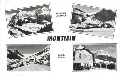""".CPSM  FRANCE 74 """"Montmin, Vues"""""""