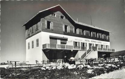 ".CPSM  FRANCE 74 ""Semnoz, Hôtel restaurant Semnoz Alpes"""