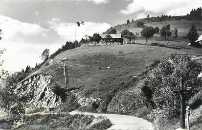 """.CPSM  FRANCE 74 """"Région du lac d'Annecy, Le Col de la Forclaz et le chalet Pricaz"""""""