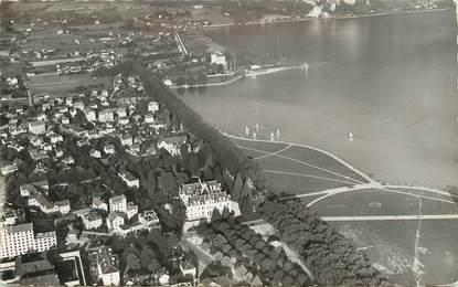 """.CPSM  FRANCE 74 """"Albigny, La baie et la plage"""""""