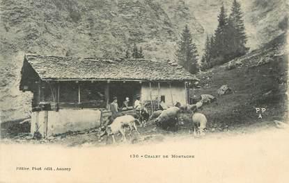 """.CPA  FRANCE 74 """"Chalet de montagne"""""""