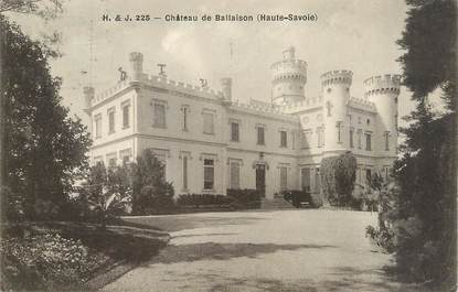""".CPA  FRANCE 74 """"Ballaison, Le château"""""""