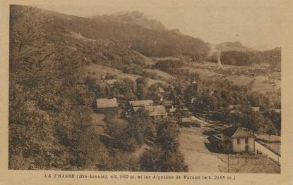 """.CPA  FRANCE 74 """"La Frasse, Les Aiguilles de Varens"""""""