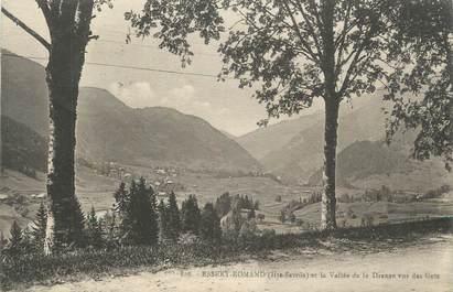".CPA  FRANCE 74 ""Essert Romand, Vallée de la Dranse"""