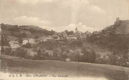 """.CPA  FRANCE 74 """"Chaumont,  vue générale """""""