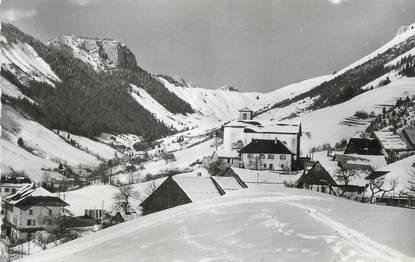 """.CPSM  FRANCE 74 """"Montmin,Vue générale et Col de l'Hault"""""""
