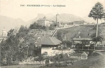 """.CPA  FRANCE 74 """"Faverges, Le Château"""""""