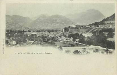 ".CPA  FRANCE 74 ""Faverges, Le Mont Charvin"""