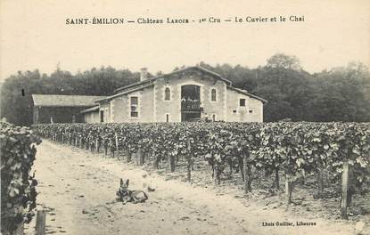 """CPA FRANCE 33 """"Saint Emilion, Chateau Laroze"""""""