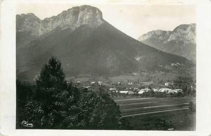 """.CPSM FRANCE 74 """"Doussard, Mont Charbon et Col de Bornette"""""""