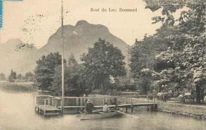 """.CPA FRANCE 74 """"Doussard, Bout du lac"""""""