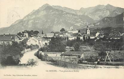 """.CPA FRANCE 74 """"La Roche sur FORON, Vue générale"""""""