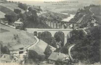 """.CPA  FRANCE 74 """"Mornex, Pont et viaduc de Viaison """""""