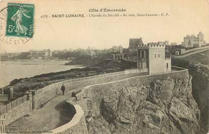 """CPA FRANCE 35 """"Saint Lunaire"""""""