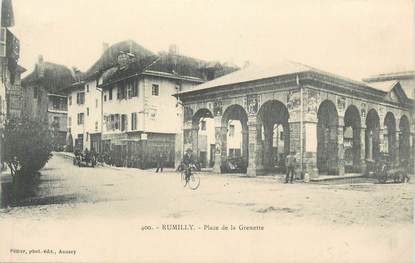 """.CPA FRANCE 74 """"Rumilly, Place Grenette"""""""
