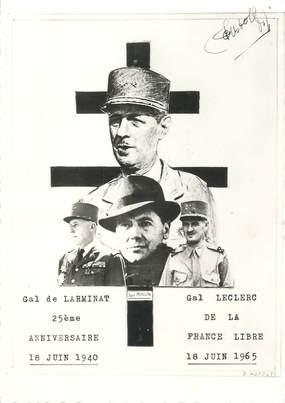 CPSM Gal De Gaulle, Gal Leclerc et Gal de Larminat