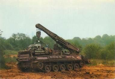 CPSM MILITAIRE /  Char dépanneur niveleur AMX 30 D