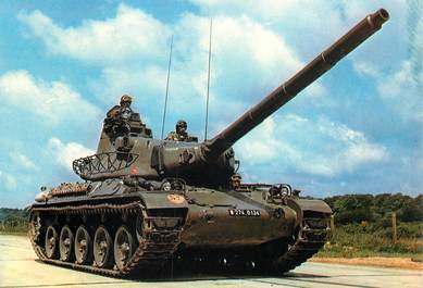 CPSM MILITAIRE /  Char AMX 30