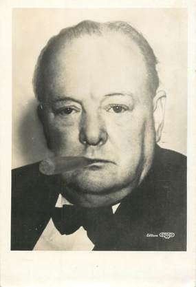 CPSM MILITAIRE / CHURCHILL