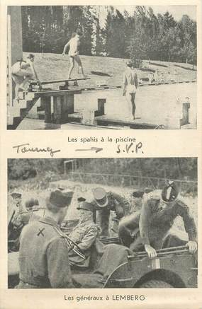 """CPSM MILITAIRE """"Les généraux à Lemberg"""" / 2 EME GUERRE"""