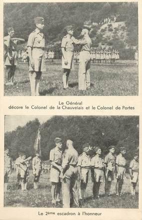 """CPSM MILITAIRE """"Décoration"""" / 2 EME GUERRE"""