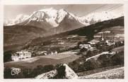 """74 Haute Savoie .CPSM  FRANCE 74 """"Combloux, Vue générale et le Mont Blanc  """""""