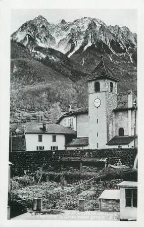 """.CPSM FRANCE 74 """"Saint Gingolph, L'église"""""""