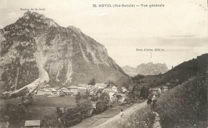 """.CPA FRANCE 74 """"Novel, Vue générale """""""