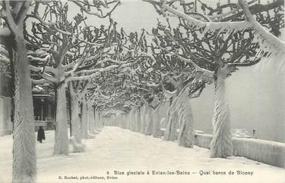 ".CPA FRANCE 74 ""Evian les Bains, Quai Baron de Blonay"""
