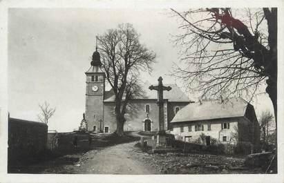 """.CPSM FRANCE 74 """"Mont Saxonnex, Place et église"""""""