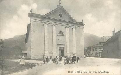 """.CPA FRANCE 74 """"Bonneville, L'église"""""""