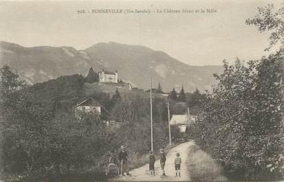 """.CPA FRANCE 74 """"Bonneville, Le château Blanc et le Môle """""""
