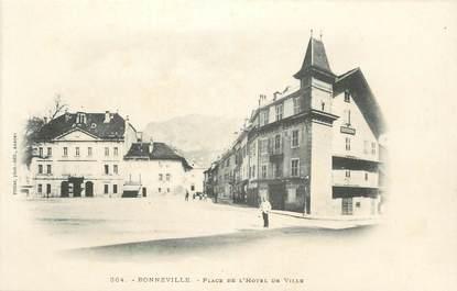""".CPA FRANCE 74 """"Bonneville, Place de l'Hôtel de Ville"""""""
