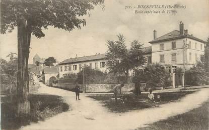 """.CPA FRANCE 74 """"Bonneville, Ecole supérieure de filles"""""""