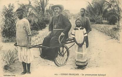 """CPA CONGO FRANÇAIS """"Le pousse Pousse épiscopal"""""""