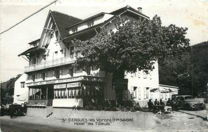 ".CPSM FRANCE 74 "" St Cergues les Voirons, Hôtel des Tilleuls"""
