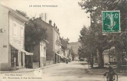 ".CPA FRANCE 74 "" Annemasse, Rue du Commerce"""