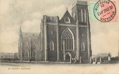 """CPA AUSTRALIE """"Melbourne, Cathédrale Saint Patrick"""""""