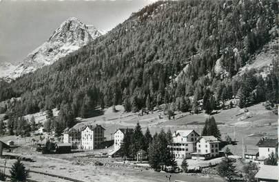 """.CPSM FRANCE 74 """"Vallorcine, Le chef lieu et le Mont Oreb"""""""