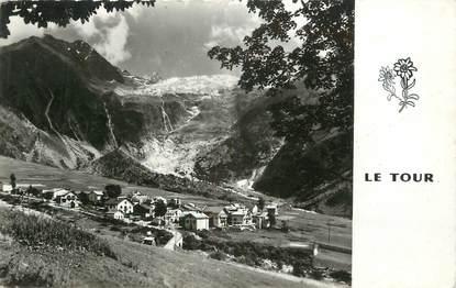 """.CPSM FRANCE 74 """"Le Tour,  Le glacier du Tour"""""""