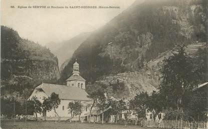 """.CPA FRANCE 74 """"Servoz, L'église"""""""