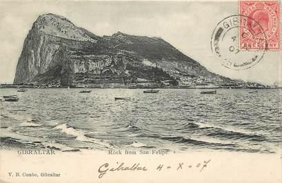 "CPA GIBRALTAR ""Rock from San Felipe"""