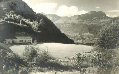 ".CARTE PHOTO FRANCE 74 ""Servoz,  Colonie EGDF Val d'Agne"""