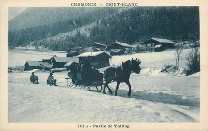 """.CPA FRANCE 74 """"Chamonix, Partie de tailing"""""""