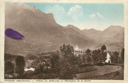 """.CPA FRANCE 74 """"Vinzier, Vallée de Bellevaux"""""""
